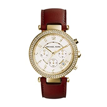 98631f601d6 Image Unavailable. Image not available for. Color  Michael Kors Women s Parker  Gold-Tone Watch MK2249