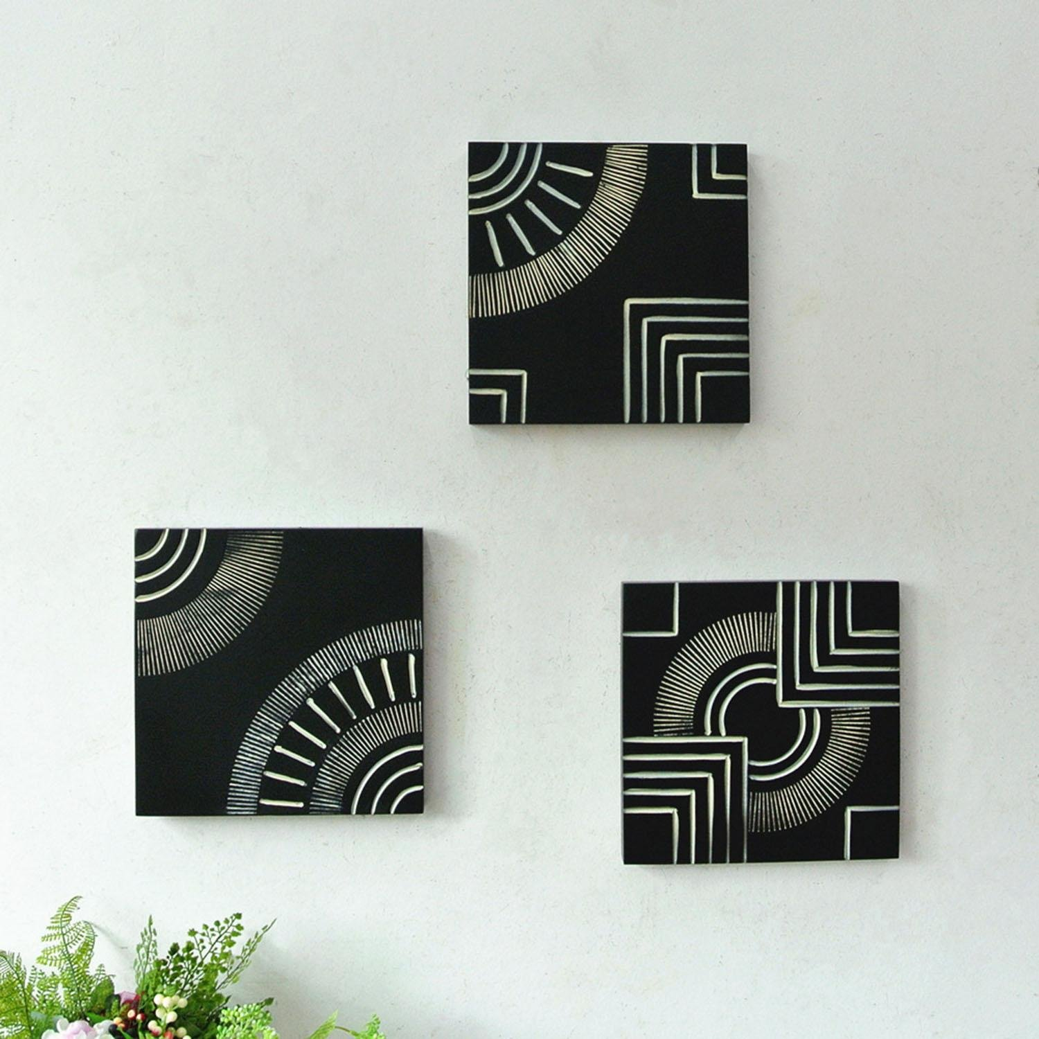 OOFYHOME Handicrafts, wall hanging creative home wall decoration, soft ornaments iron crafts
