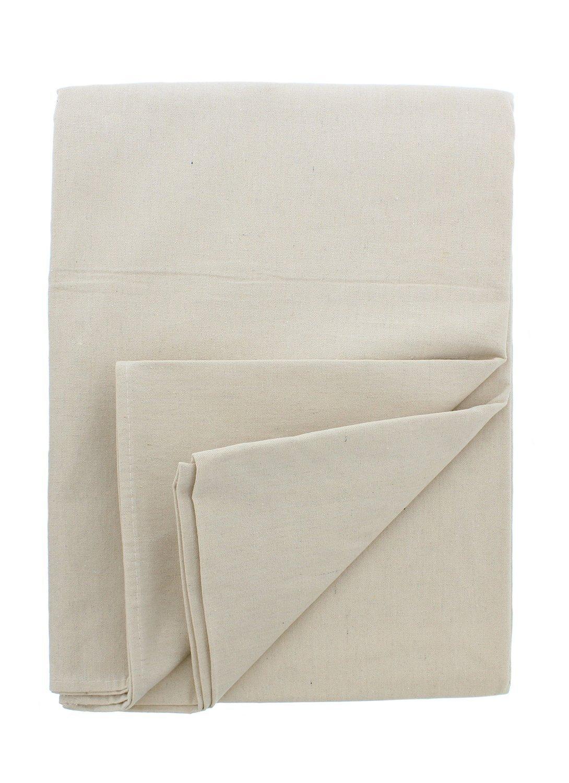 Goza Cotton Canvas Drop Cloth (9 x 12) - % 100 Cotton, Duck Canvas, Medium Weight, All Purpose