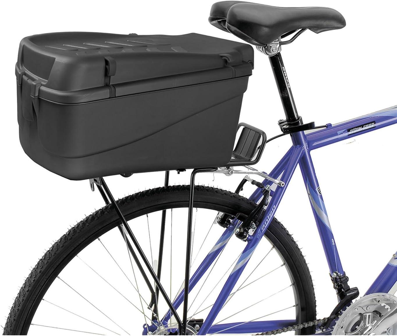 M-Wave Amsterdam Easy - Caja para bicicleta, color negro, talla ...