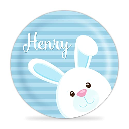 1 Personalized Melamine Plate - makes a Great Kids Gift ~ I Design and Customize You Give the Perfect Gift!  sc 1 st  Easter Wikii : personalized plastic plates for kids - pezcame.com