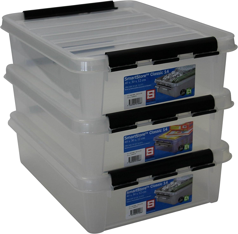 Orthex 35890703 Juego de 3 Clipbox Smart Store Classic 14 Caja ...