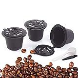 4pcs Reusable Refillable Coffee Capsule Filters