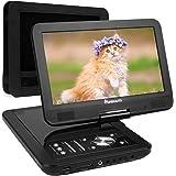 "10,1"" HD Tragbar DVD Player 5 Stunden Akku NAVISKAUTO Auto Kopfstütze Monitor Kopfstützenhalterung, SD/USB, AV IN/OUT(PD1001)"