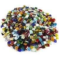 SINBLUE 500 piezas colores mezclados vitrificados azulejos