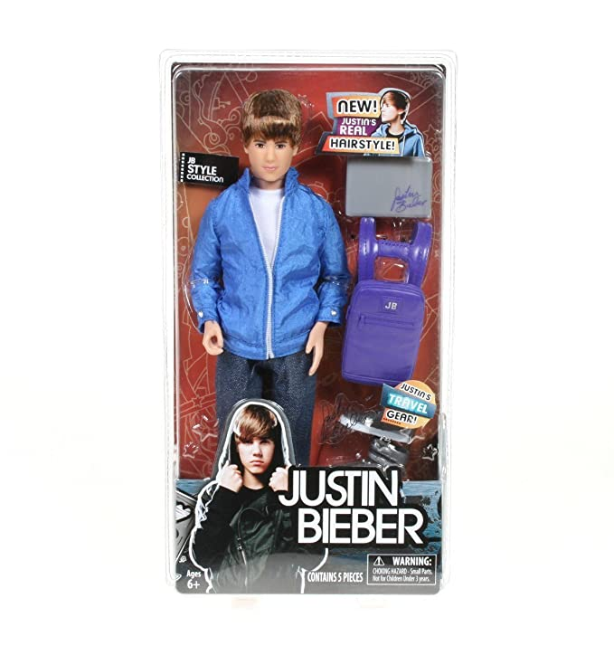 Amazon Justin Bieber Jb Style Collection Doll With Travel Gear