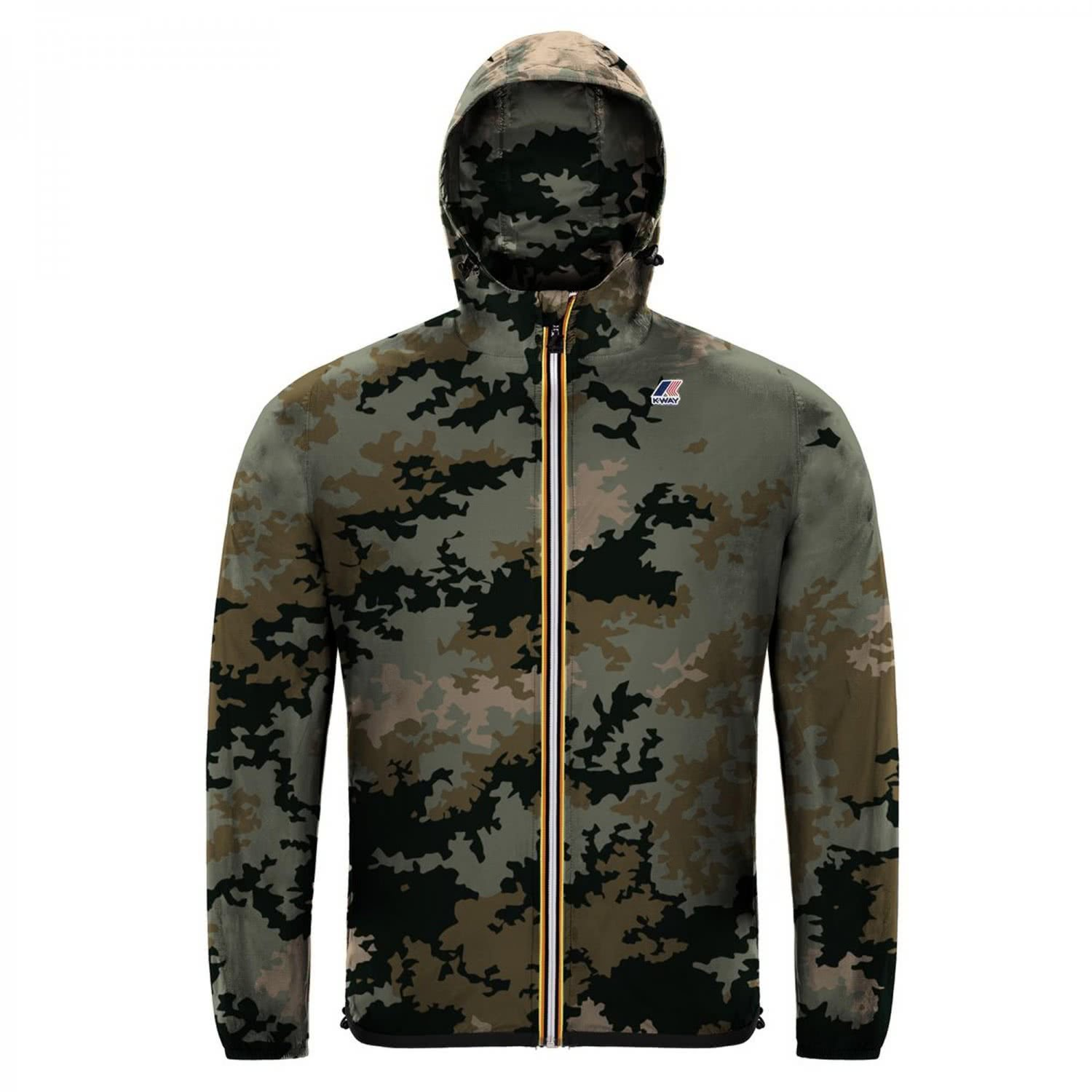 K-Way Le Vrai 3.0 Claude Graphic Mens Jacket