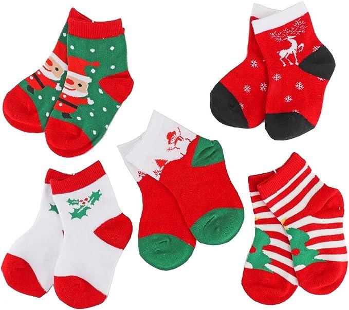 Baby Christmas Socks