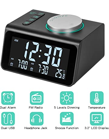 Amazon.es: Radiodespertadores - Radios: Electrónica