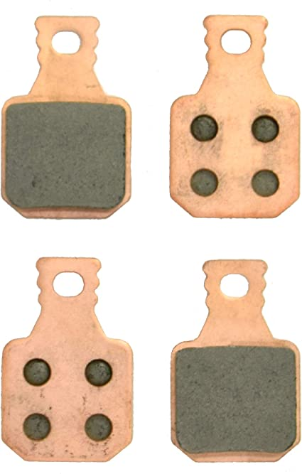Gold 4 pairs Bicycl Disc Brake Pads for Magura MT5 MT7 Disc Brake