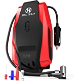 Portable Air Compressor Pump 150PSI 12V - Digital Tire Inflator - Auto Tire Pump with Emergency Led Lighting and Long Cable for Car, Bicycle, Motorcycle, Truck - SUV RV ATV