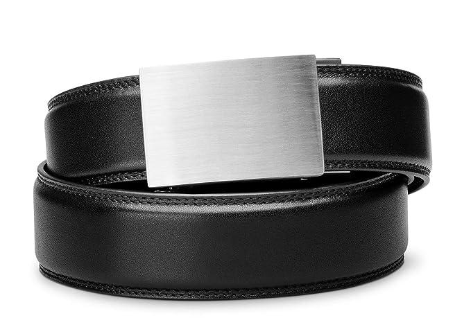 Amazon.com: KORE - Cinturón de acero inoxidable para hombre ...
