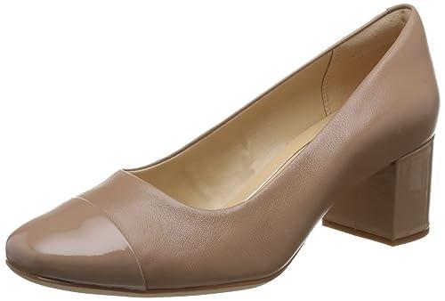 Clarks Orabella MIA - Zapatos de Cordones de Piel para Mujer Beige Beige   Amazon.es  Zapatos y complementos 8b86a1c5f07a9