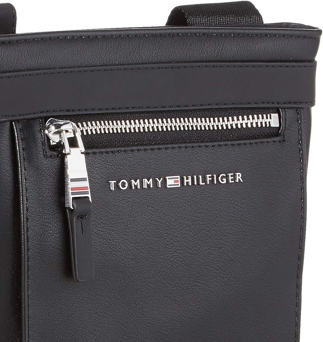 Nero Tommy Hilfiger Th Metro Mini Crossover Black Borse a spalla Uomo