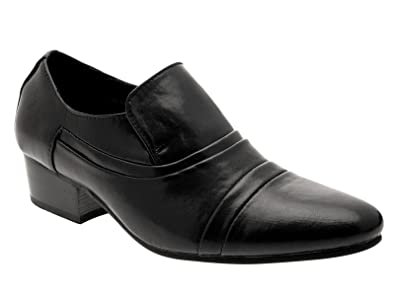 Lora Dora - Mocasines para hombre, color negro, talla 40.5