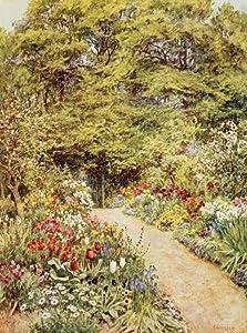 Posterazzi The Kitchen garden Poster Print by Helen Allingham, (18 x 24)