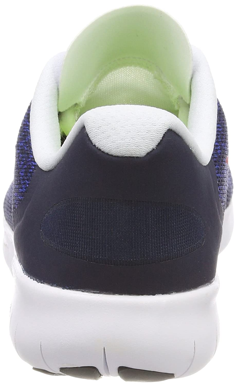 Nike Boys' Free RN 2017 (GS) Training Shoes, (Obsidian