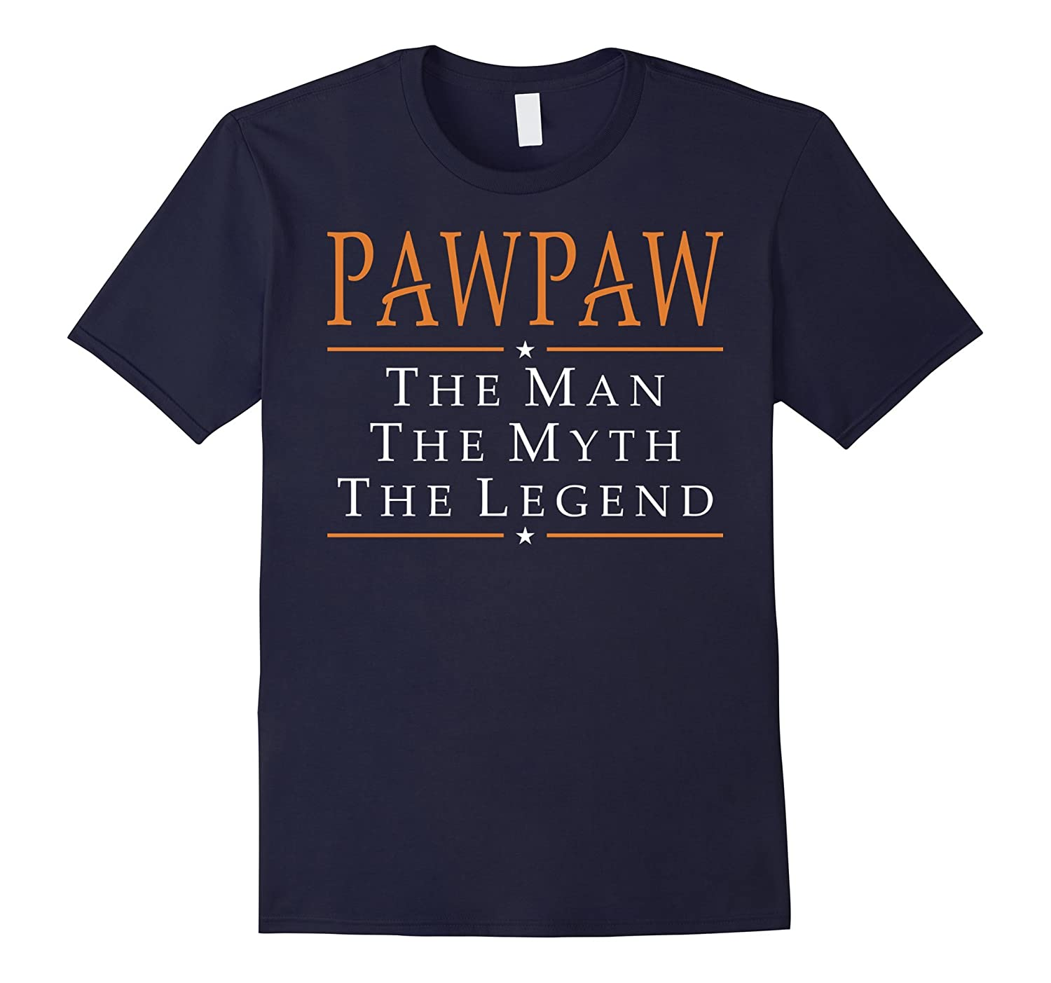 Pawpaw The Man The Myth The Legend T-Shirt Tshirt-TD