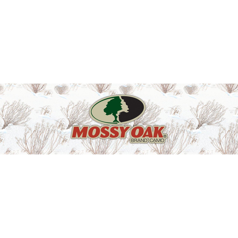 Mossy Oak Graphics 11010-WB-WL Winter Oak Brush 66 x 20 Large Window Graphic with Mossy Oak Logo for Full Size Truck
