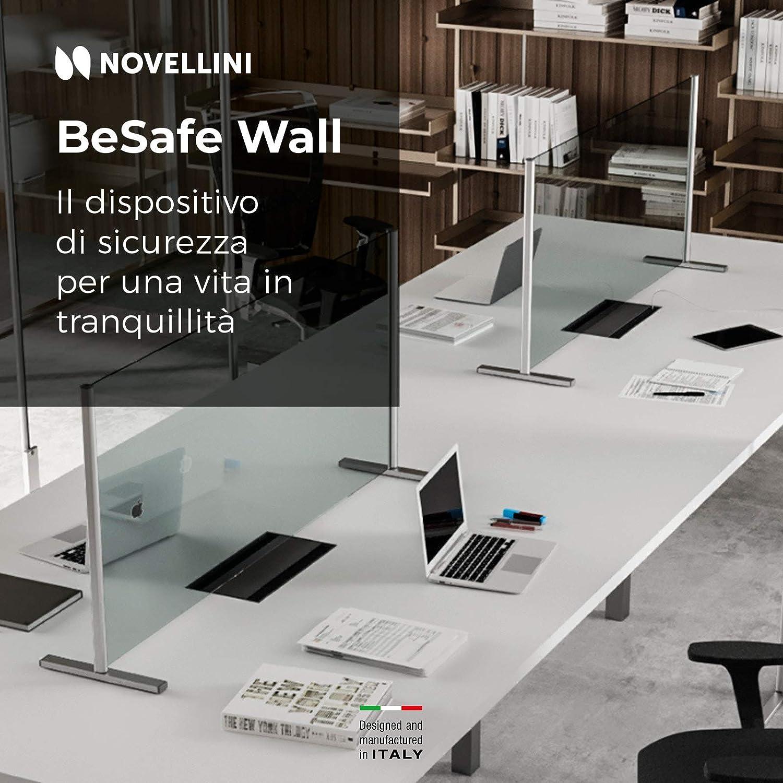 Novellini Besafe Wall V3 Mamparas Para Oficinas 6mm Mampara Mostrador Mamparas Proteccion Mostrador Mampara Protectora Mostrador Mampara Proteccion Mostrador Pantalla Mostrador: Amazon.es: Industria, empresas y ciencia