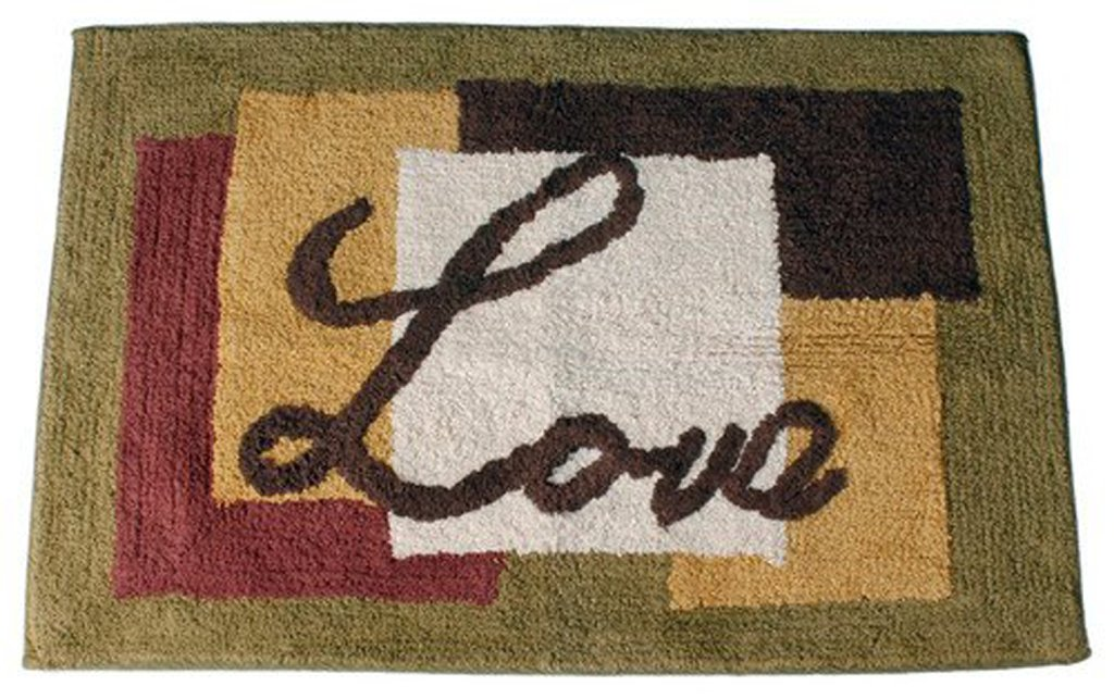 Saturday Knight Inspire Cotton Rug, 20-Inch by 30-inch