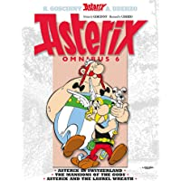 Asterix: Omnibus 6: Asterix in Switzerland, The Mansions of the Gods, Asterix & the Laurel Wreath