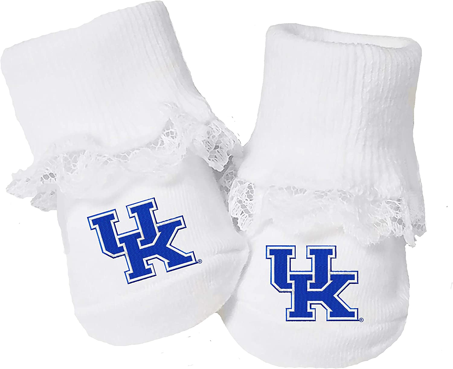 Future Tailgater Tennessee Volunteers Baby Toe Booties with Lace
