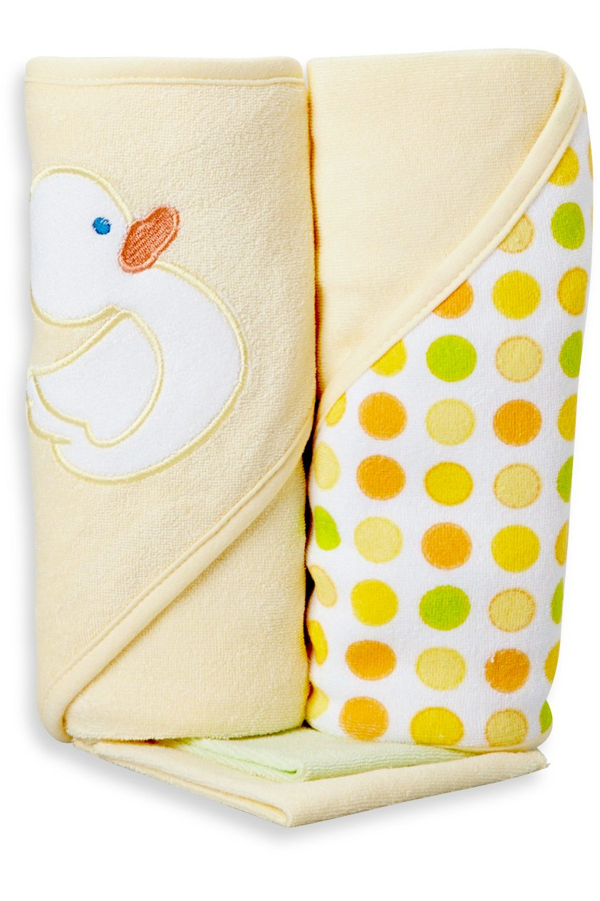 Amazon Com Spasilk Washcloths Yellow Duck 10 Count