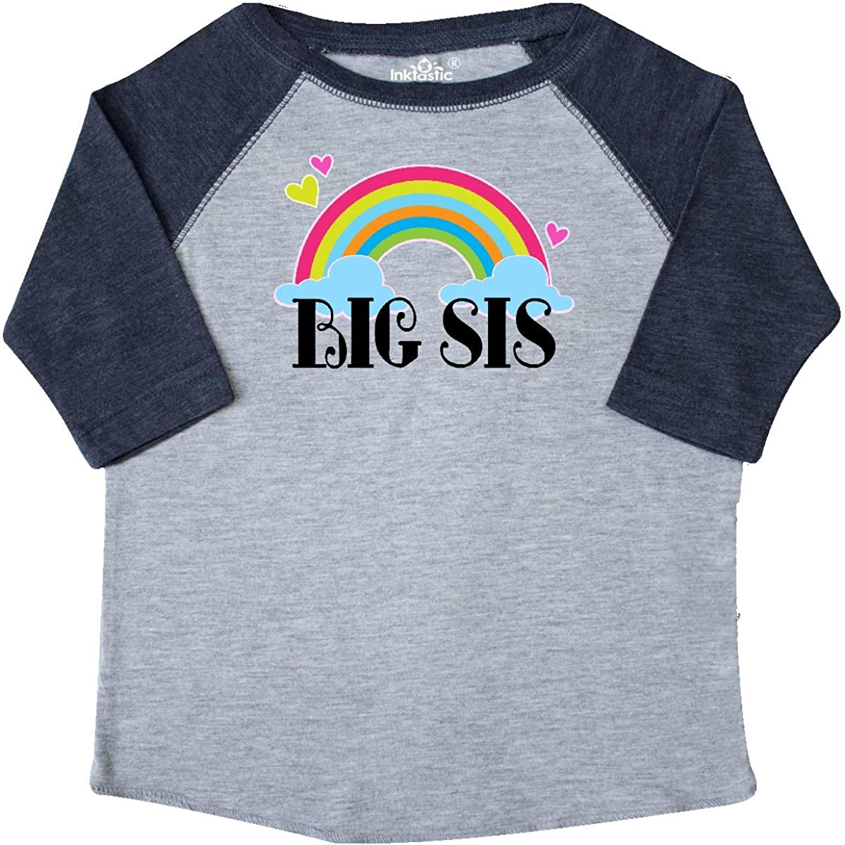 inktastic Big Sis Outfit Girls Sister Announcement Toddler T-Shirt