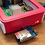 Icstation 2 in 1 Micro SD Card Memory Storage Board Shield Module Dual System Switcher for Raspberry Pi B+ 2B 3B