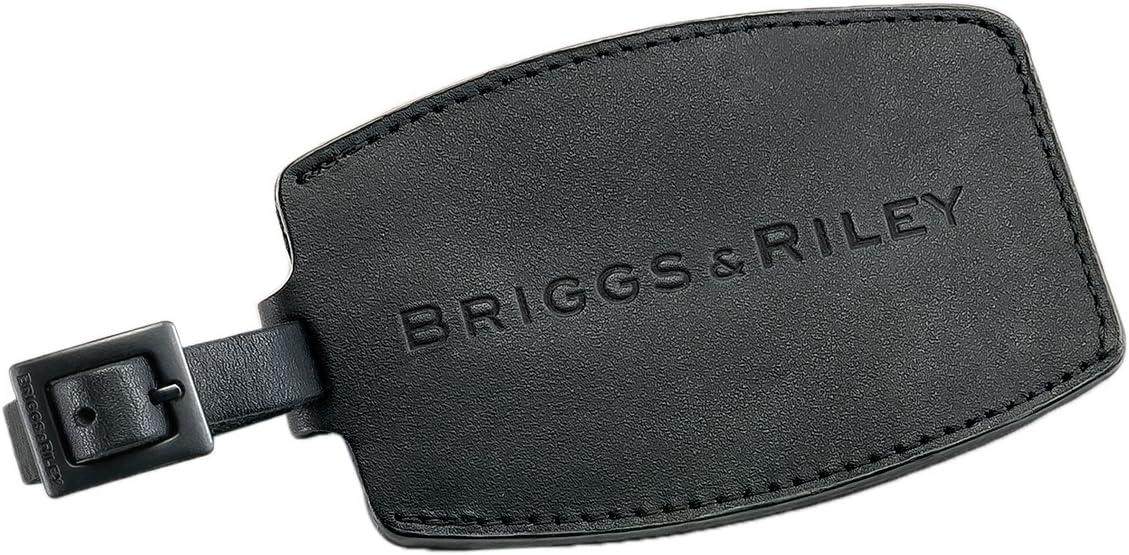 Amazon.com: Briggs & Riley Piel luggagetag, Negro), W40-4