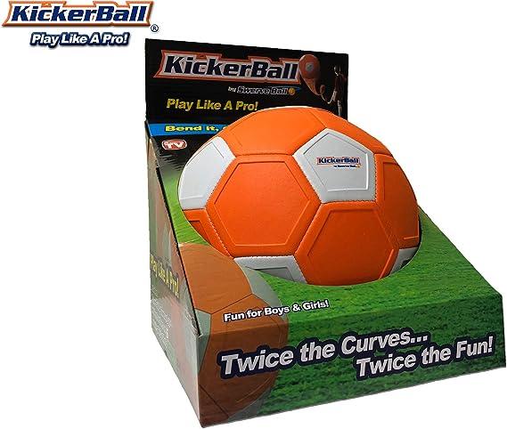 Kickerball - Curve and Swerve Football: Amazon.es: Deportes y aire ...