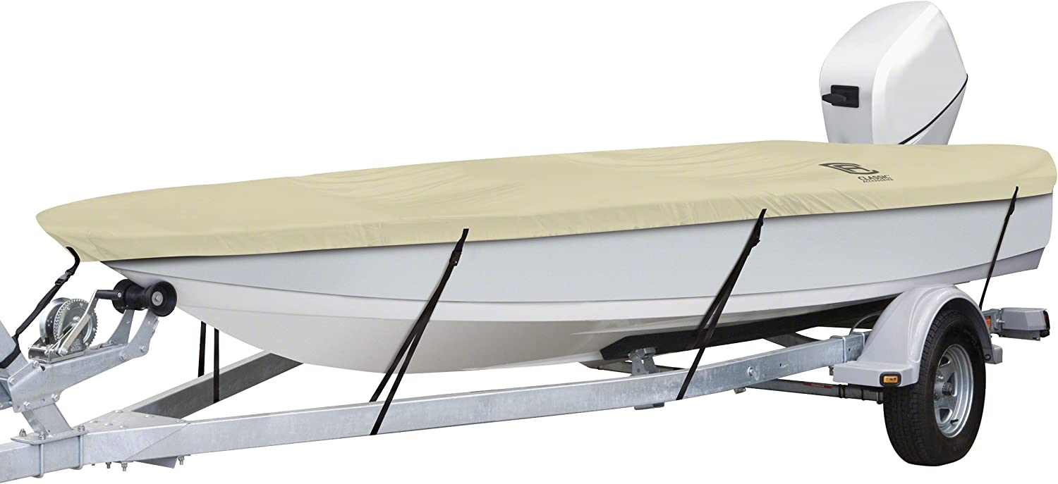 "Fits Boats 22/' Classic Accessories Lunex RS-1™ Boat Cover 24/' L x 116/"" W"