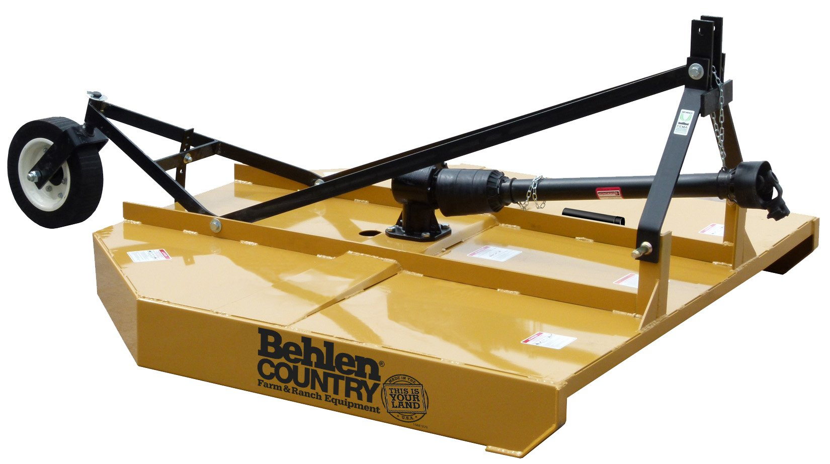 Behlen Country 80110040YEL Medium Duty Rotary Cutter, 4-Feet