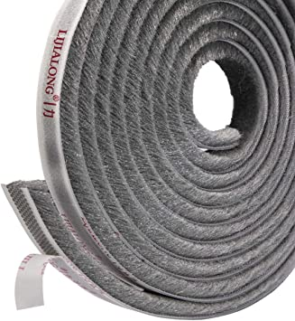 6 m Wardrobe Slidig Door Strip Window Frame Dust Seal Brush Pile Self Adhesive