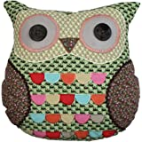 Owl Green Cushion