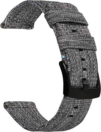 22mm Gewebtes Nylon Sport Loop Armband Band für Samsung Gear S3 Classic Frontier