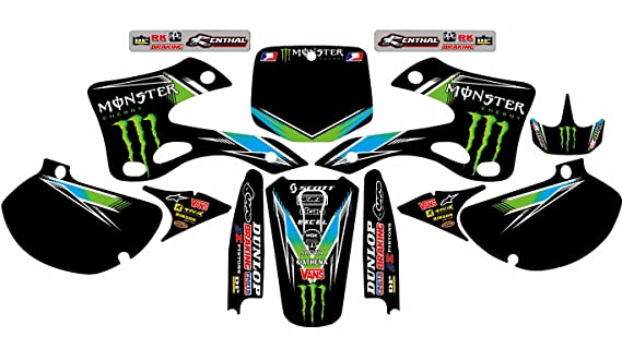 Amazon com: N 198 KAWASAKI KX 125-250 1999-2002 DECALS STICKERS