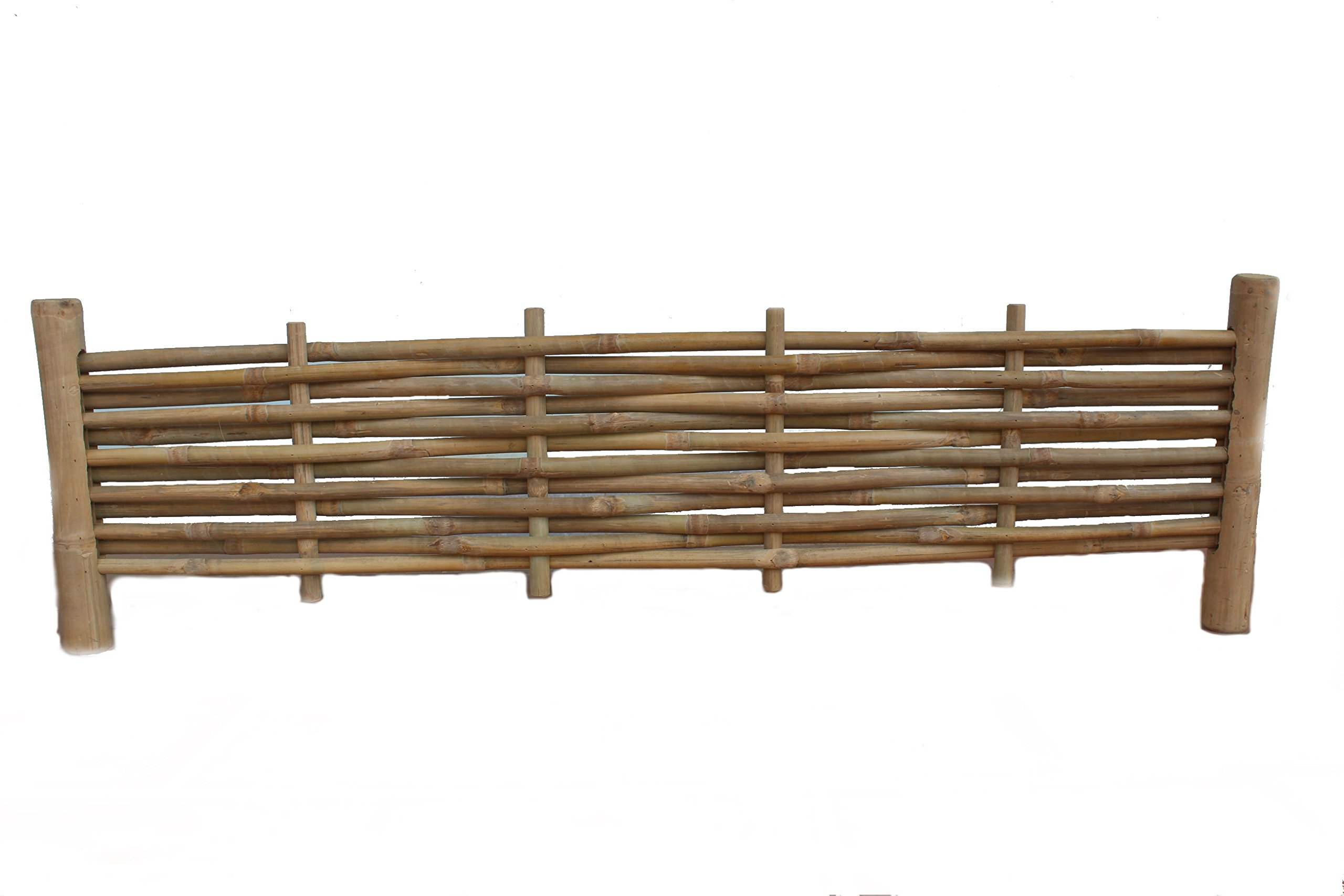 Master Garden Products MGP Woven Bamboo Edging Panel 48'' W x 14'' H