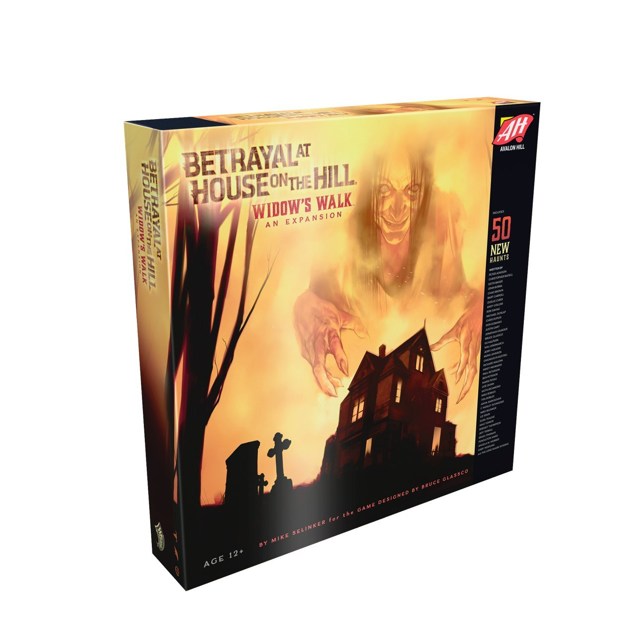 Avalon Hill / Wizards of the Coast C01410000 - Betrayal at House on the Hill: Widow's Walk - Englisch