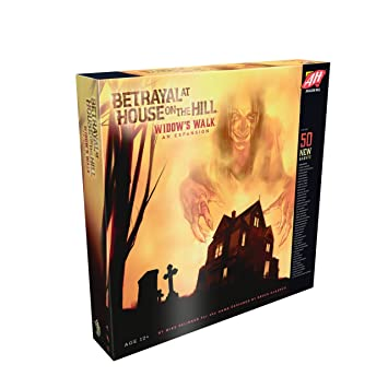 Amazon Com Betrayal At House On The Hill Widow S Walk Board Game