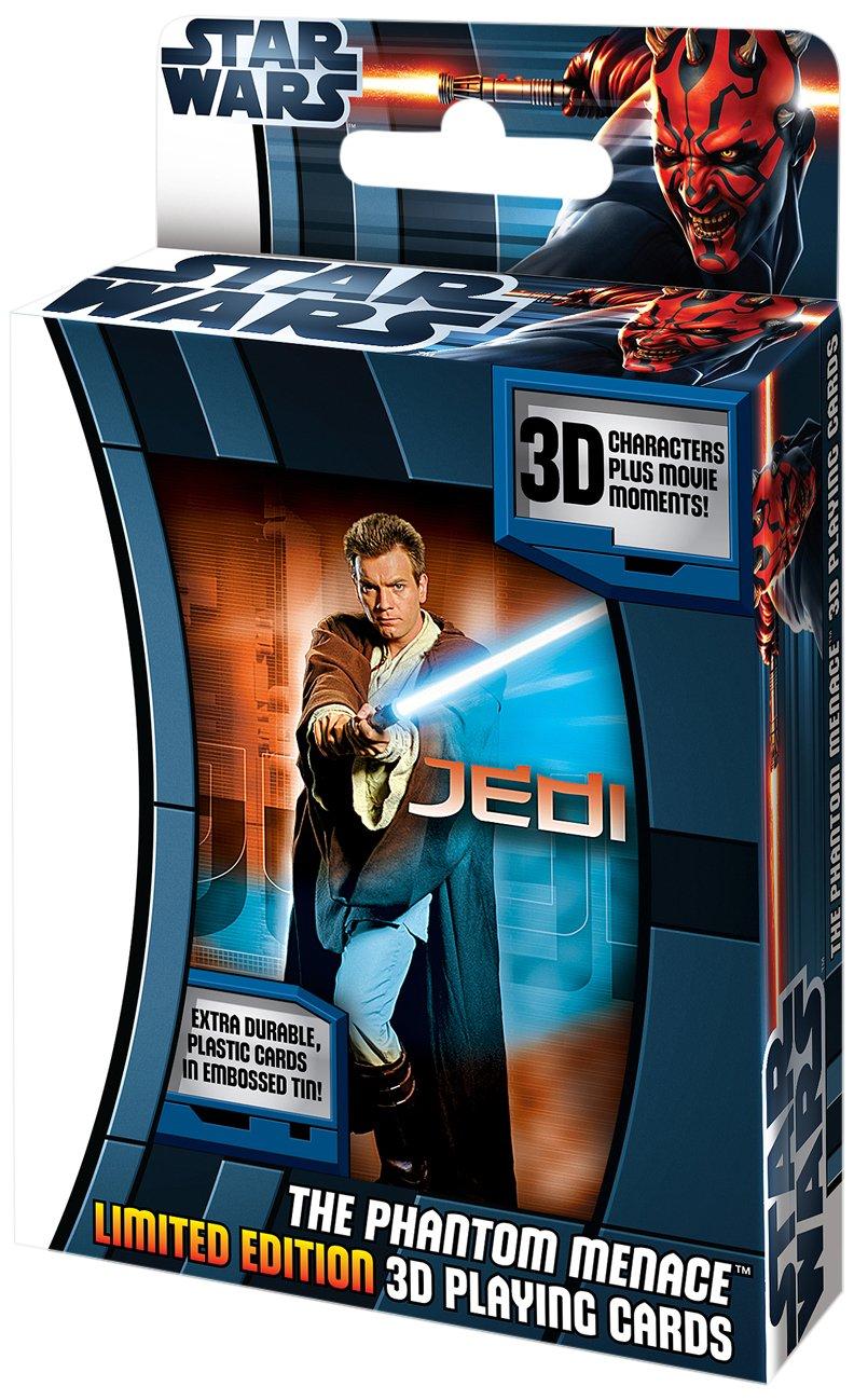 Cartamundi Juego de cartas 3D, diseño de Star Wars, La ...
