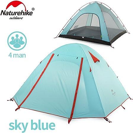 Naturehike P Classics Series Tente 210T Tissu pour 3 Personne NH15Z003-P