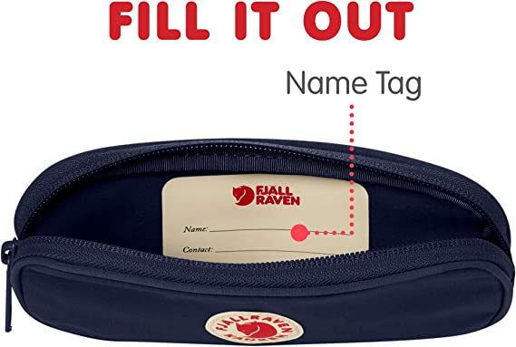 Fjallraven Kånken Pen Case Wallets and Small Bags, Unisex Adulto, Navy, OneSize: Amazon.es: Deportes y aire libre