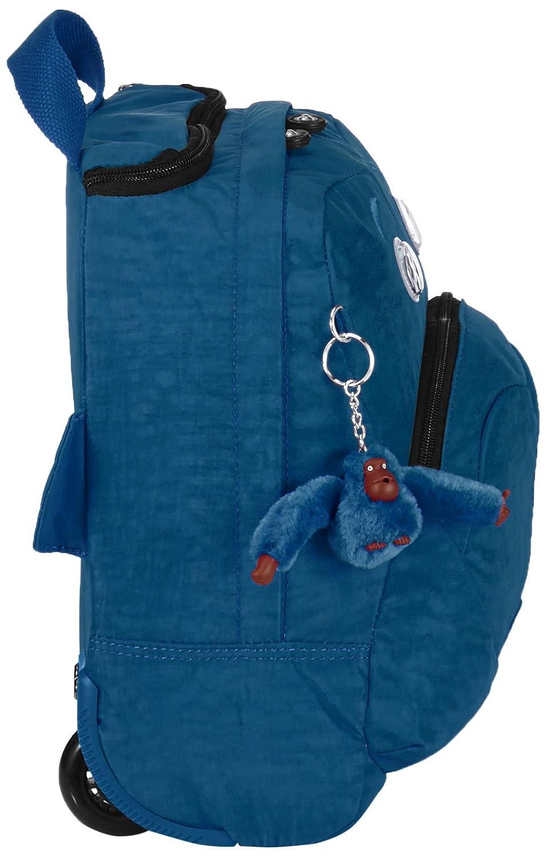 4e58e096c Kipling Wheely Mochila con Ruedas, Teal C (Azul): Amazon.es: Equipaje