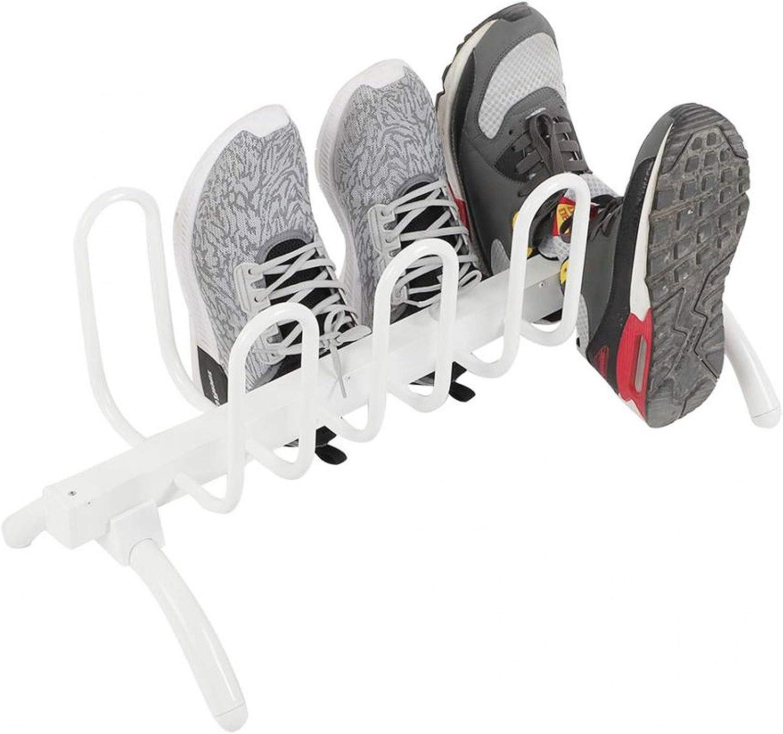 FANGFANG Secadora de Arranque del hogar Inteligente termostato eléctrico del Zapato secador de Zapatos de Arranque la máquina de Secado Tendedero con 8 Ganchos 220V