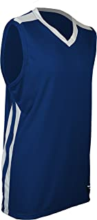 product image for PT-248-CB Men's Collegiate Style Basketball Pro Jersey-Enjoy Cool and Dry Comfort with Sweat and Odor Reducing Technology (X-Large, Royal/White/White)