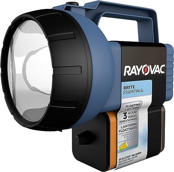 RAYOVAC FLOATING 7 LED LANTERN FLASHLIGHT 200LUMEN W//6V BATTERY