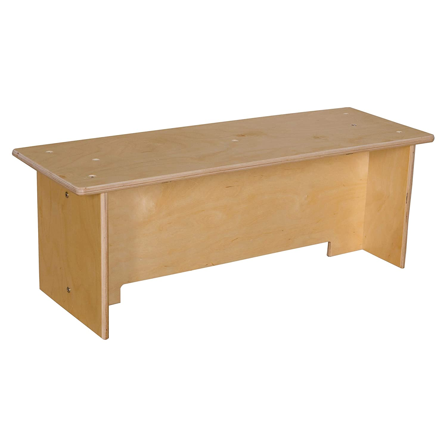 Image of Contender Toddler Bench - RTA Early Childhood Education Materials