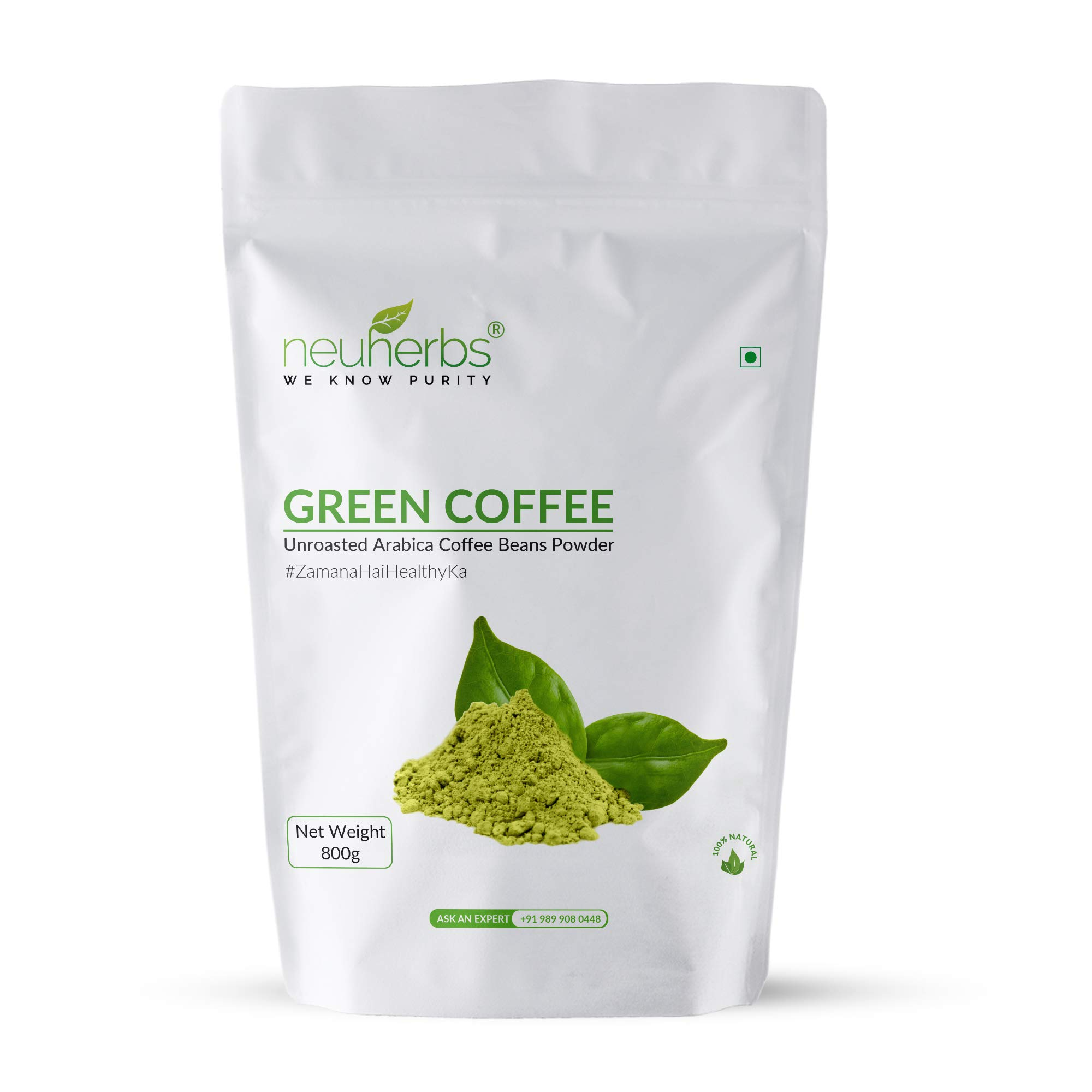 Neuherbs Green Coffee Beans Powder For Weight Loss 800 G Buy